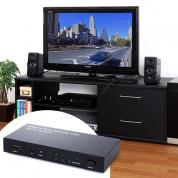 HDMIセレクター(HDMI切替器・4入力×1出力・光、同軸デジタル出力付き)